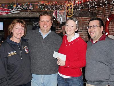 Castine Volunteer Firefighters Association donates to Team Tessa