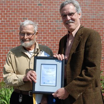 Paul Birdsall received the 2012 Espy Land Heritage Award