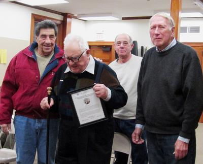 Castine selectmen award Boston Post cane