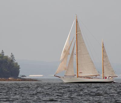Young Castine sailors