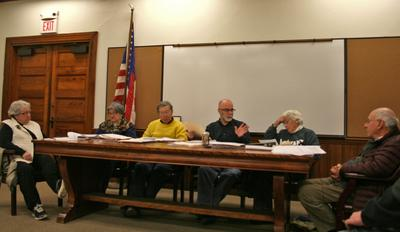 Members of the Castine Planning Board