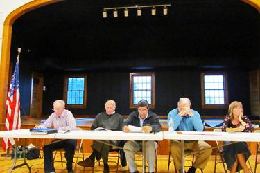 Castine selectmen attend special town meeting