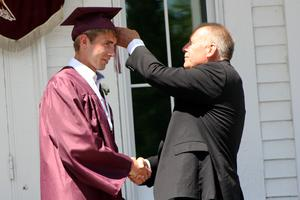 Edward Lameyer graduates from GSA