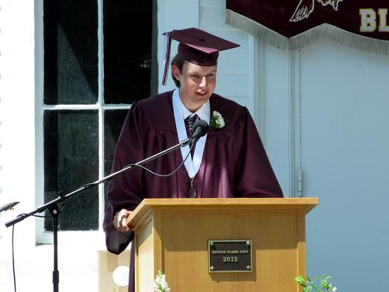 Justin Willis, GSA second honor essayist