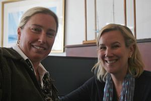 Lisa Haugen and Karen Koos