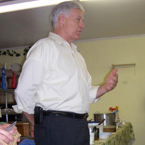 Congressman Mike Michaud at the Halcyon Grange