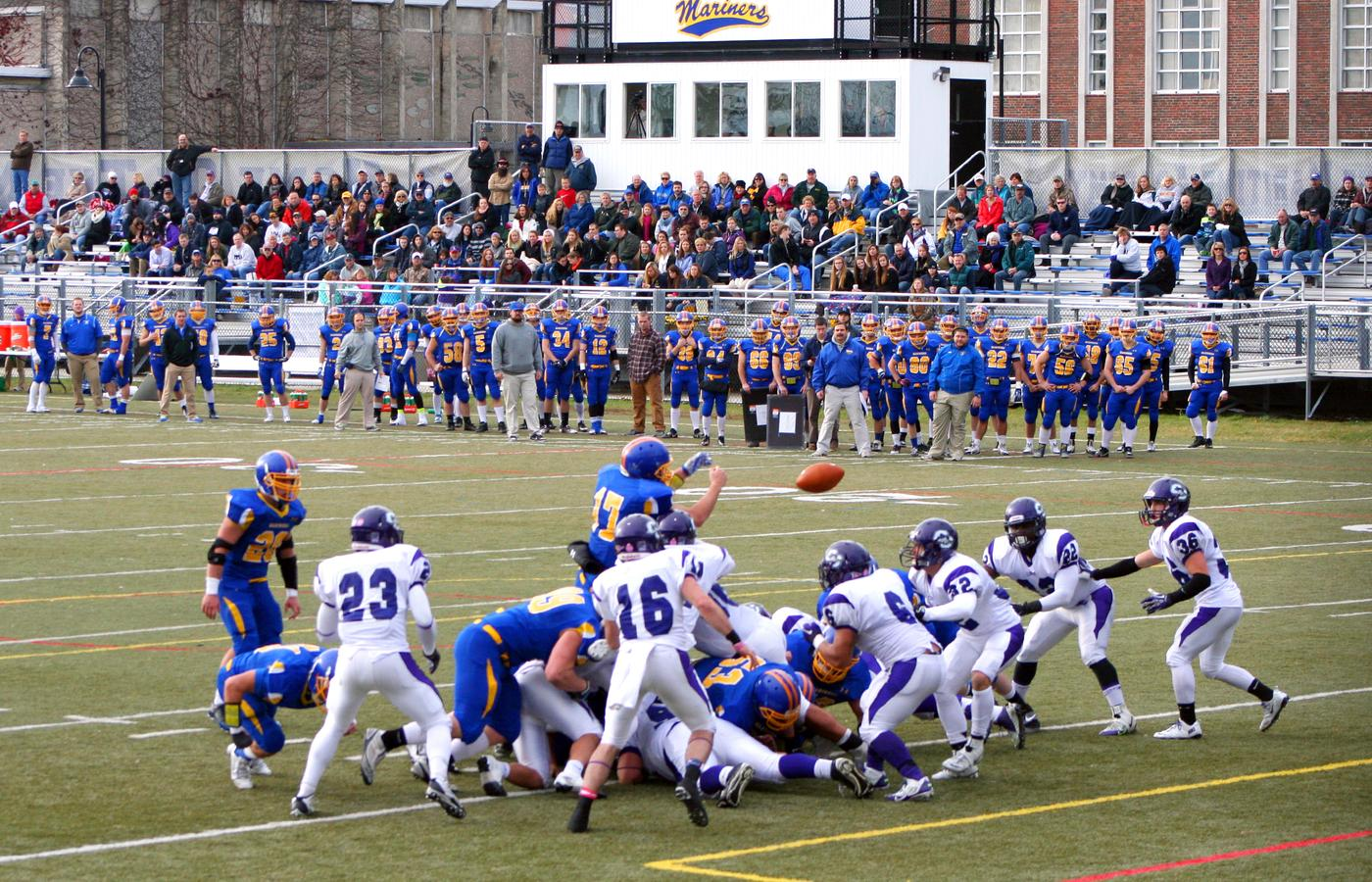 Mariners start strong, but fall to Curry | Castine Patriot ...