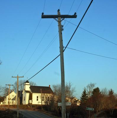Power poles upgraded in Penobscot