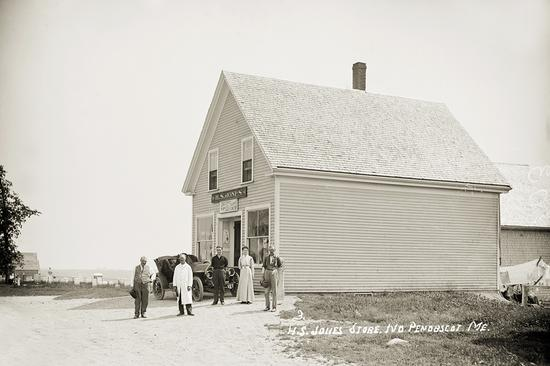 H.S. Jones Store in North Penobscot