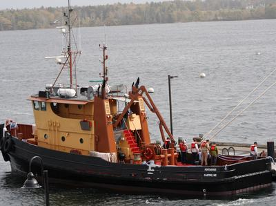 The tugboat Pentagöet