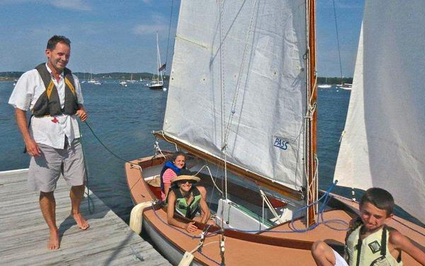 Winners of Castine Class July 7 Race