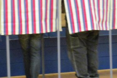 Voters in Penobscot