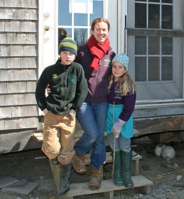 Heather Retberg on Quill's End Farm