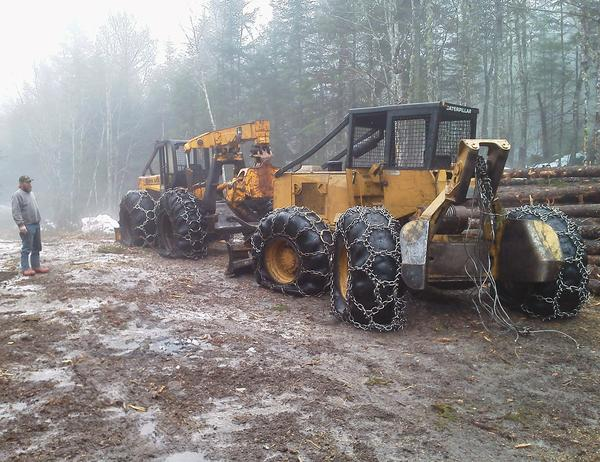 Info sought in skidder vandalism