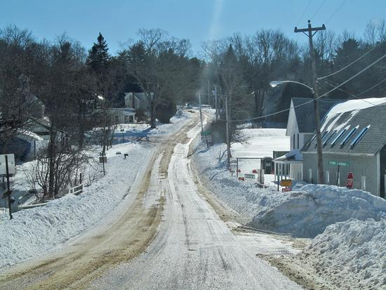 Route 199 in Penobscot