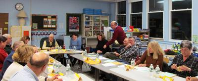 Union 93 board members at a meeting on November 12