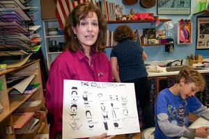 Judy Parks curates Adams School Art Fest