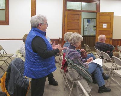 Castine, Maine discusses issues and a new town manager