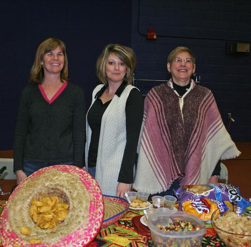 Karen Motycka, Susan Macomber and Linda Abernethy