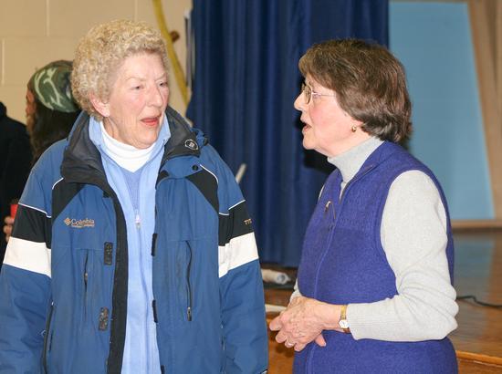 Castine and Brooksville Harbormaster Sarah Cox
