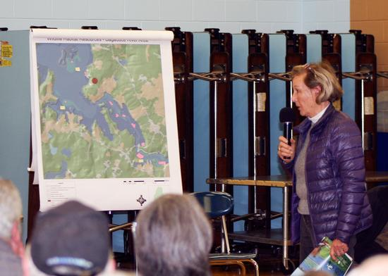 Gunilla Kettis, Bagaduce Watershed Association member