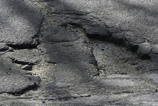 Potholes still a plague on local roads