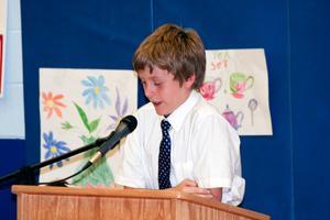 Penobscot student Zachary Bechard