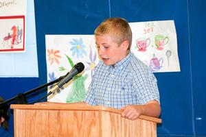 Penobscot student Tyler Goodman