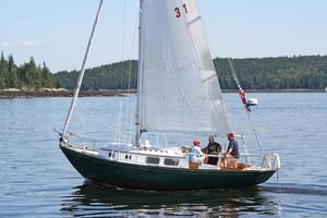 The Jaded Lady in the Retired Skippers Race