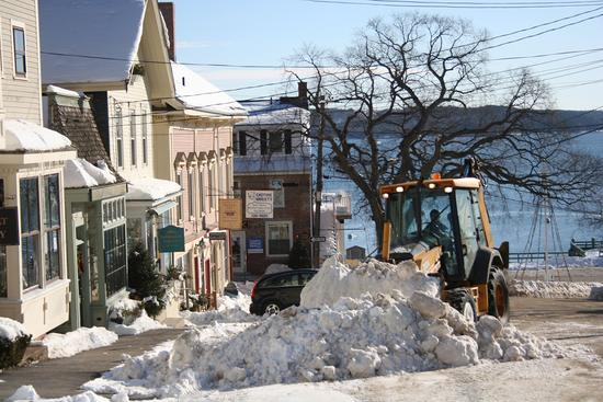 All in a (winter) day's work in Castine