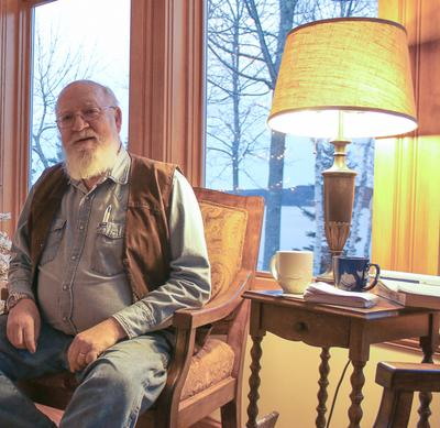 At home with Daniel Dennett