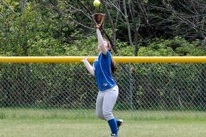 Haskell catches the fly ball