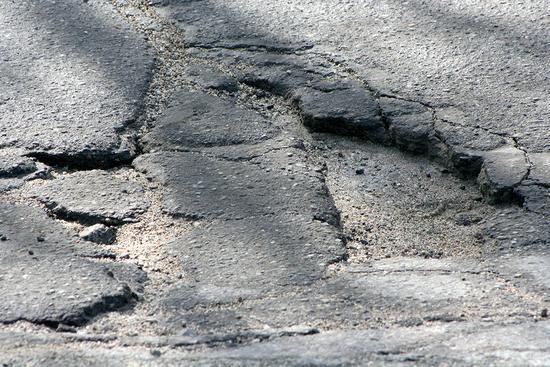 Potholes plague Route 15 in Deer Isle