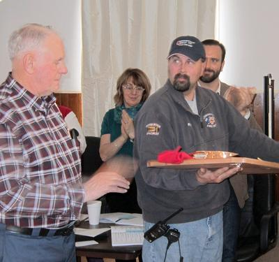 Bartlett honored for 51 years of service to fire department