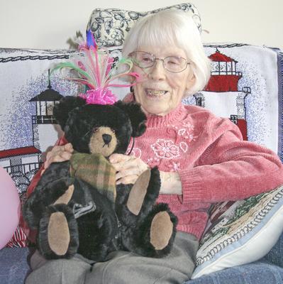 Lillian Joyce, of Deer Isle, Maine, turns 100 years old in March, 2014