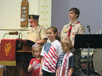 Awarding good citizenship on Memorial Day