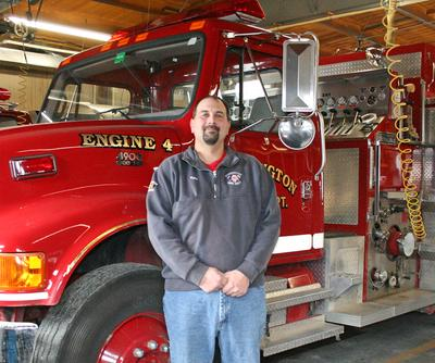 Stonington, Maine's new fire chief