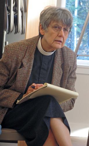 Rev. Virginia Peacock talks about emergency preparedness