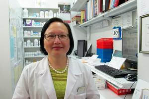 V&S's new pharmicist Angela Park