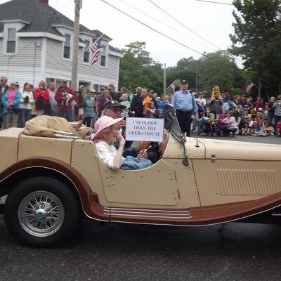 Grand Marshal Mary Cousins