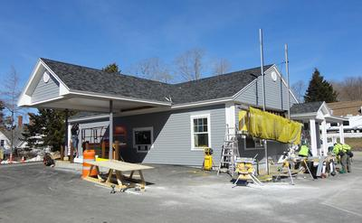 Deer Isle, Maine renovated Bar Harbor Bank & Trust branch will open in April
