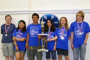 The DIS K-8 Under 1000 team