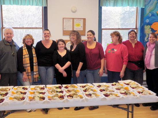 Island Community Center annual Thanksgiving dinner
