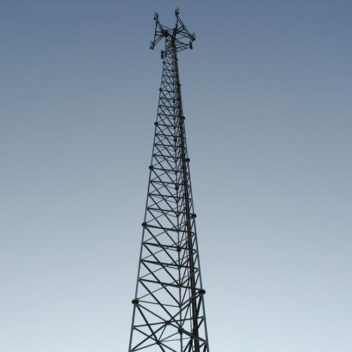 Cell tower off the North Deer Isle Road