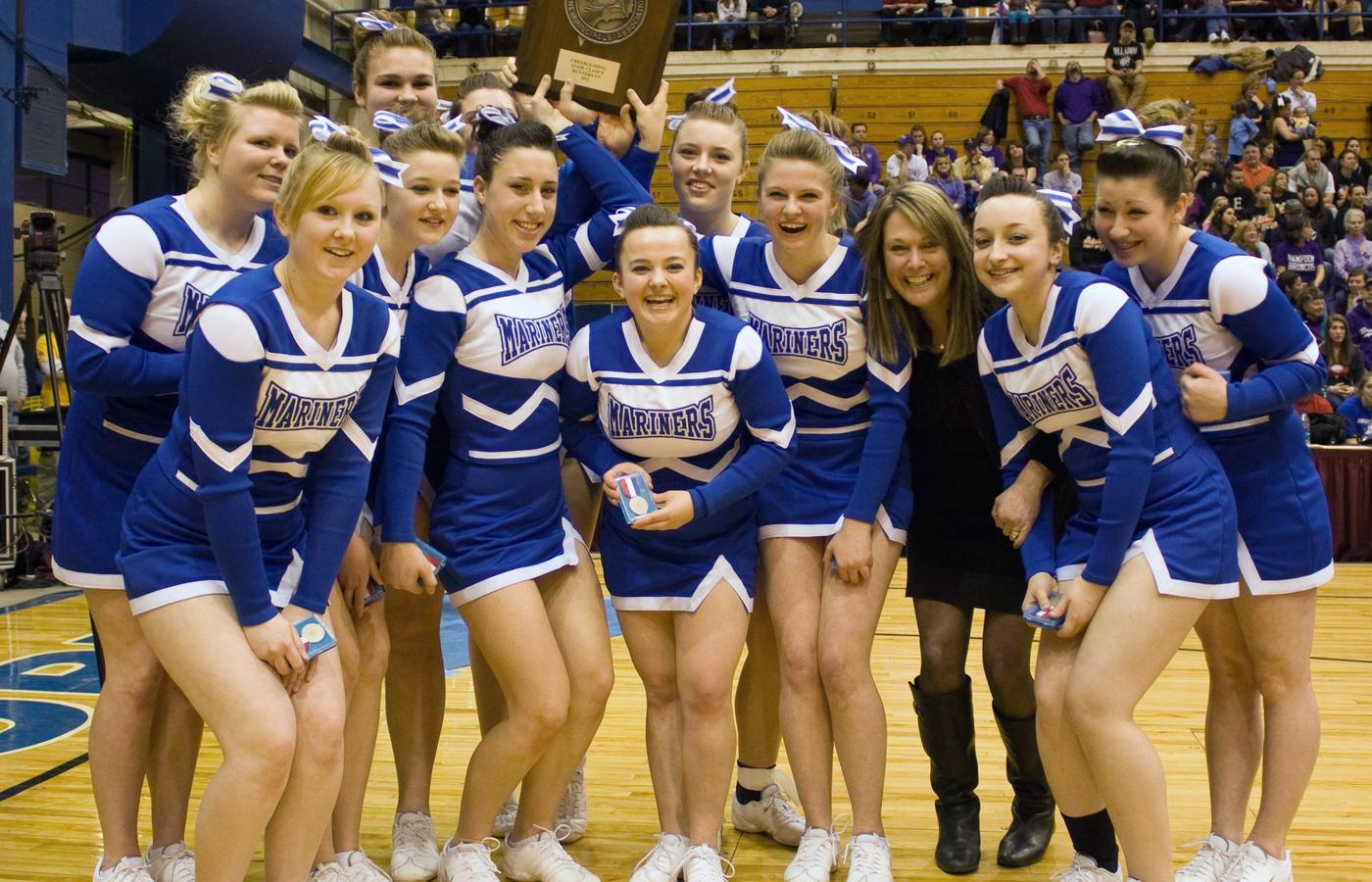 DIS Cheerleaders take runner-up position in state