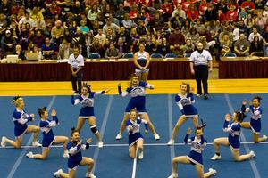 DISHS cheerleaders