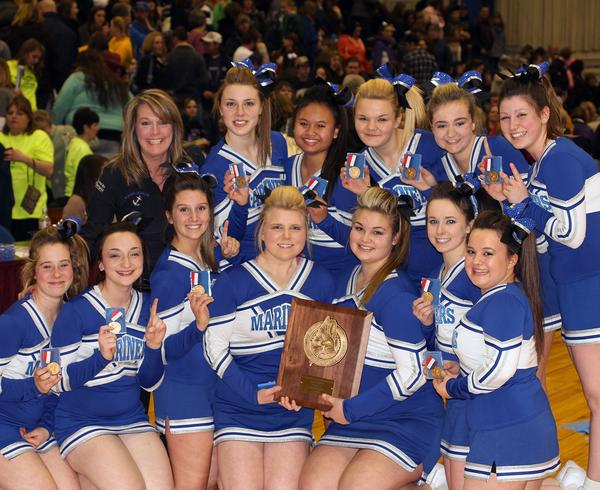 The winners of the East-West Class D Regional