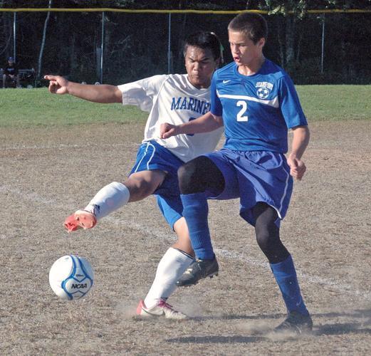 DISHS soccer player Krisford Melanio