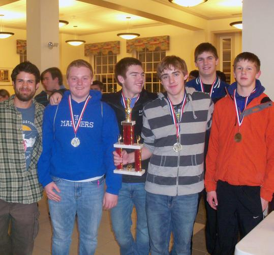 The Deer Isle-Stonington K-12 chess team