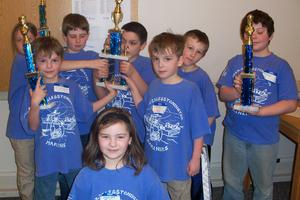The DIS K-3 chess team